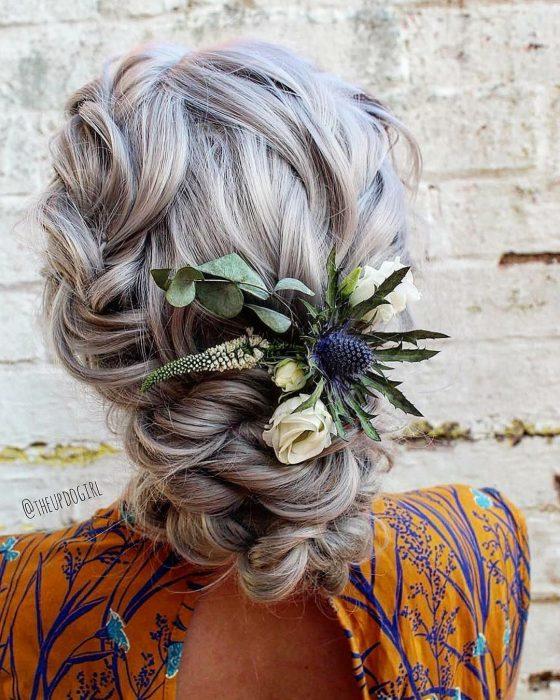 cabello platinado