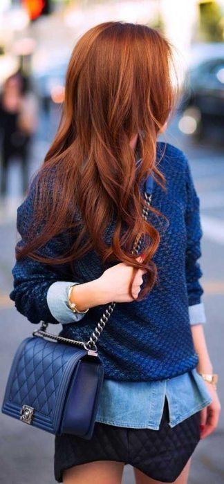 cabello pelirrojo