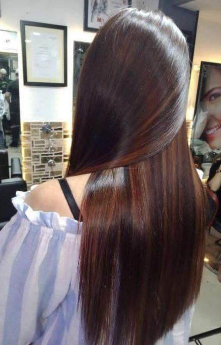 cabello brilloso