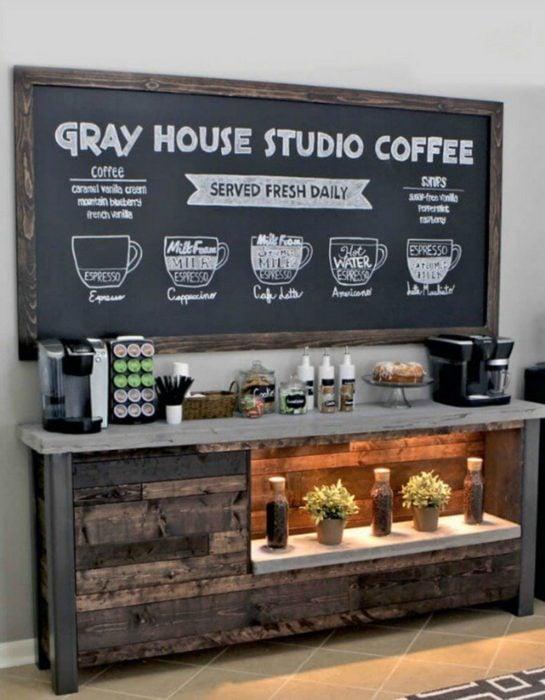estación de cafetería