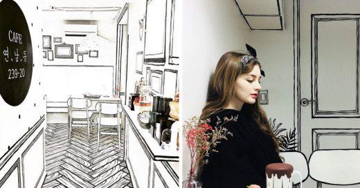 Cover Esta cafetería en Seúl te hace sentir como en una caricatura