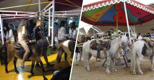 Cover Los carruseles con ponis sonCRUELDAD disfrazada de diversión