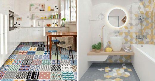 Cover Reinventa los pisos de tu casa