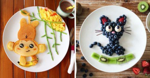 Cover platillos divertidos para que tus niños coman más fruta