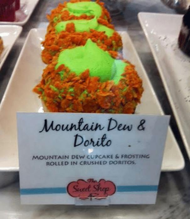 cupcake de doritos