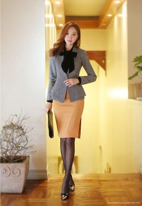 outfit de oficina coreano