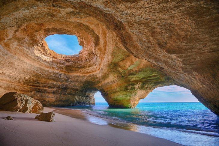 Cueva del mar de Benagil, Portugal