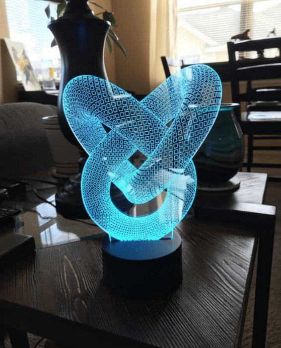 lámpara holográfica