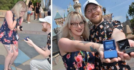Cover Se propusieron matrimonio al mismo tiempo por accidente en Disney World