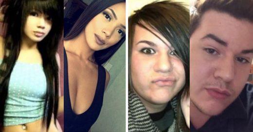 Cover Fotos de del antes y después de adolescentes rebeldes