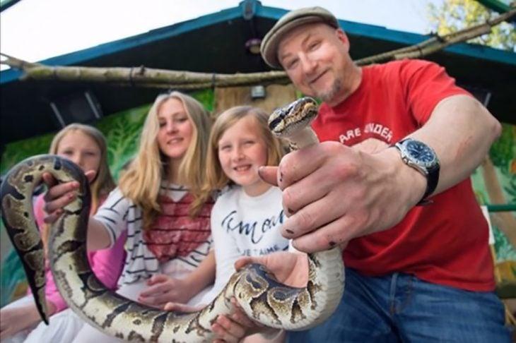 familia zoológico