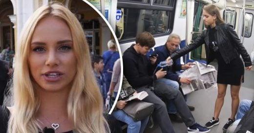Cover Feminista rusa tiran cloro en la entrepierna de los hombres para eliminar el manspreading