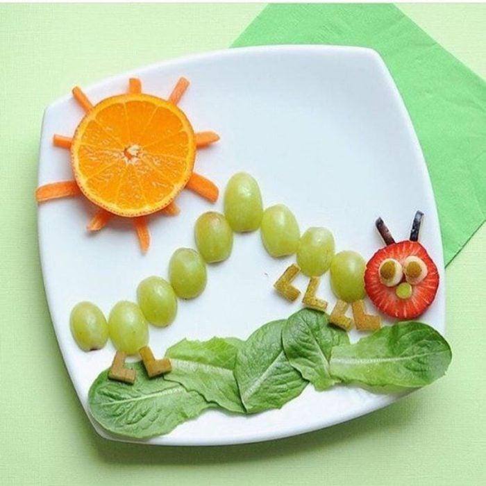 Oruguita de uvas