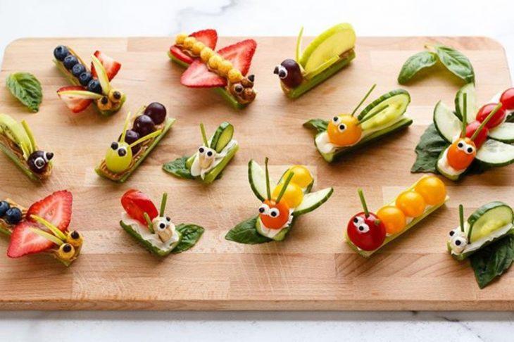 cochecitos de fruta