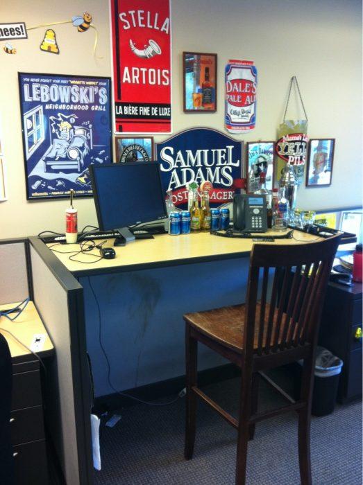 bar en escritorio