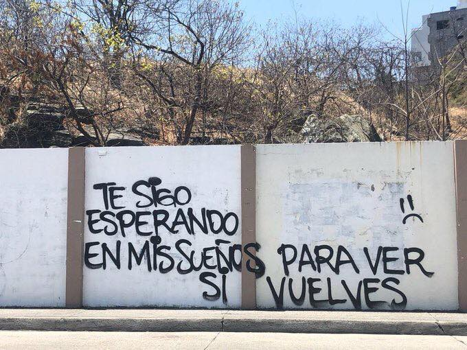 grafitti abandono