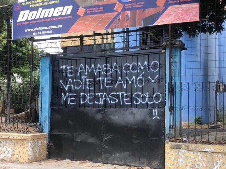 grafitti te amaba como a nadie