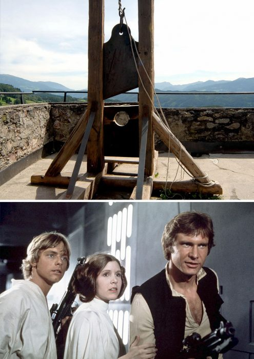 starwars y guillotina