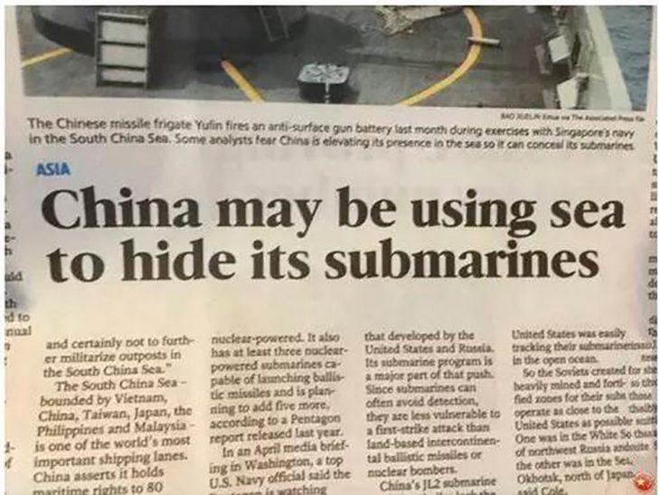 submarinos chinos