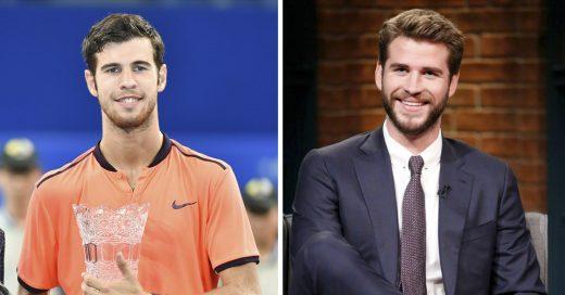 Cover El hermano gemelo perdido de Liam Hemsworth juega tenis