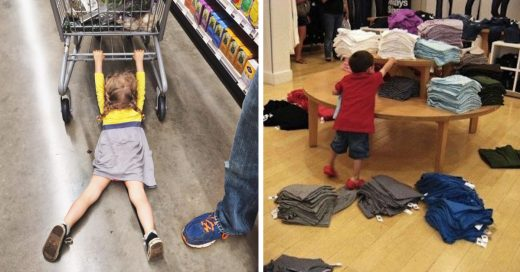 Cover Pruebas irrefutables de que los niños odian ir de compras