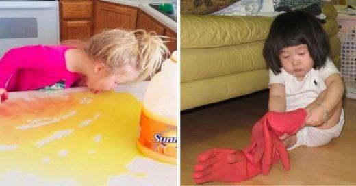 Cover Fotos de niños con las que los adultos se van a identificar