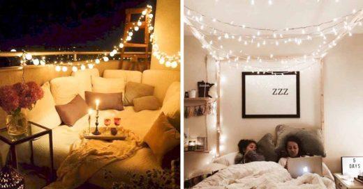 Cover Ideas para decorar tu casa con series de luces