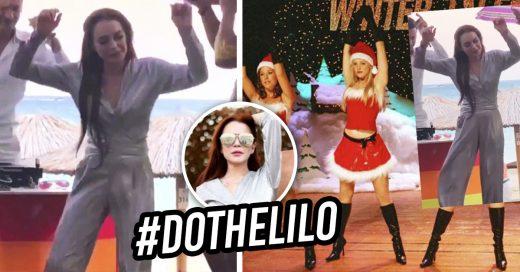 Cover El Lindsay Lohan Challenge