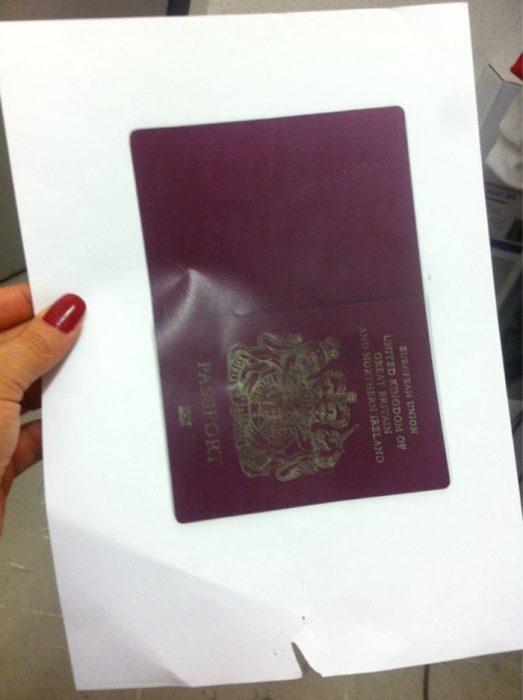 copia de pasaporte