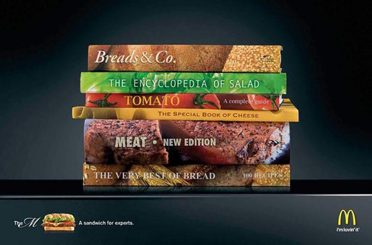 Sandwich hecho por expertos, McDonald's