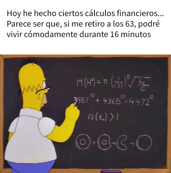 meme de homero simpson