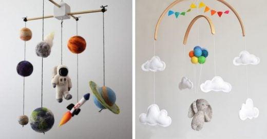 Cover Adorables móviles para cunas de bebé