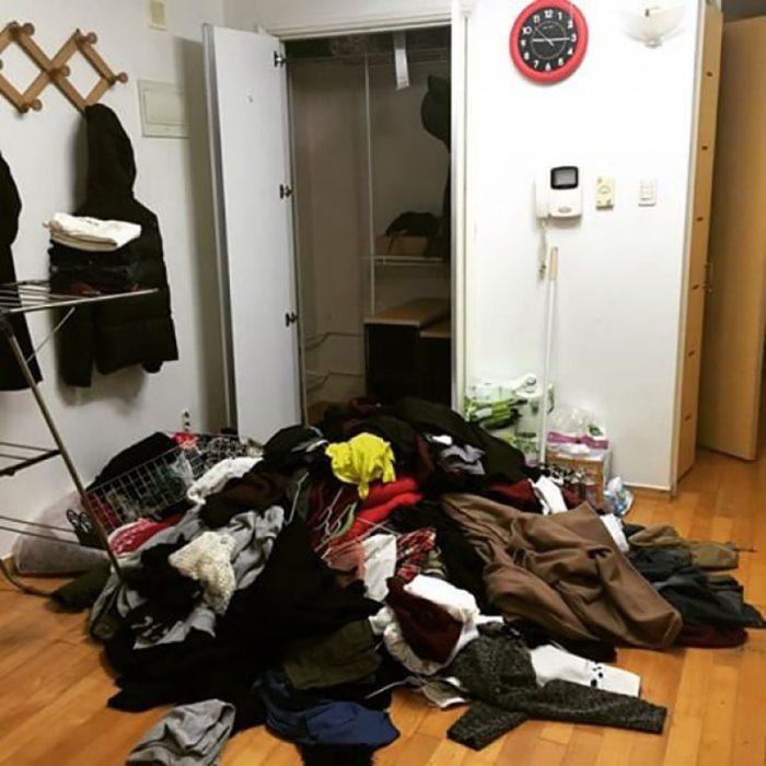 habitación tirada