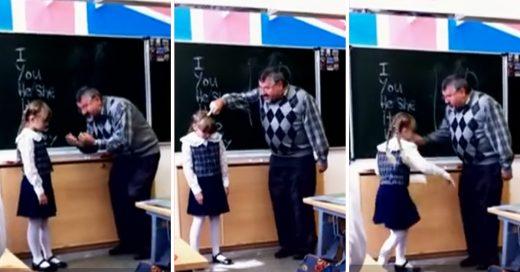Cover Una niña de 8 años le devuelve la humillación pública a un profesor que se burló de ella en mitad de la clase