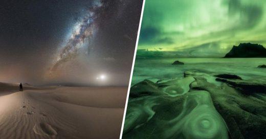 Cover las mejores fotos nocturnas del año