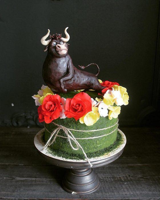 pastel de Ferdinand de Olé
