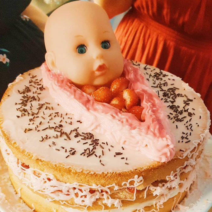 pastel de bebé