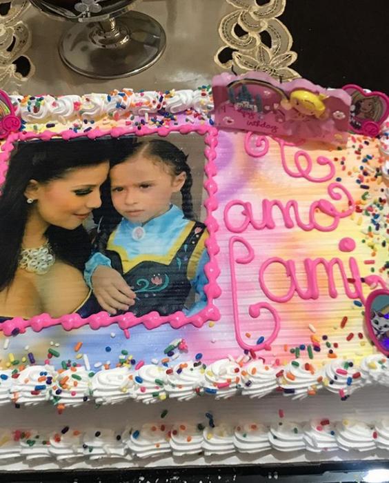 pastel madre e hija