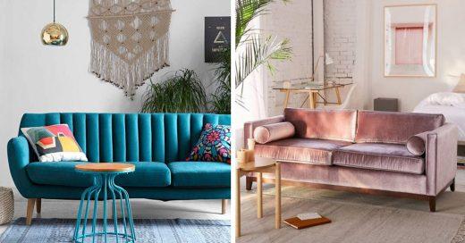 Cover sofas que le darán elegancia a tu sala