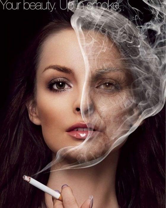 Cuida tu belleza, deja de fumar