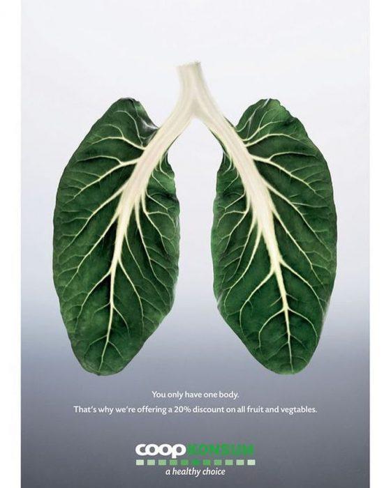 anuncio descuento en frutas y verduras