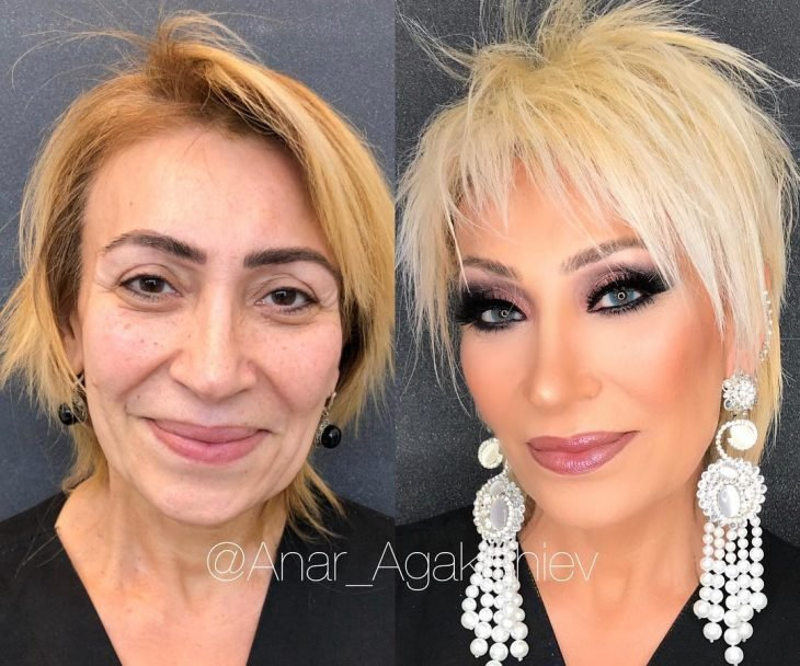 maquillaje treinta años menos