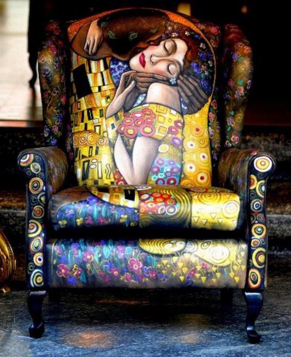 l beso,de Gustav Klimt