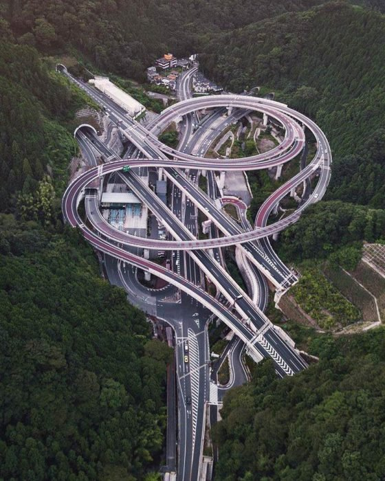 carretera japonesa