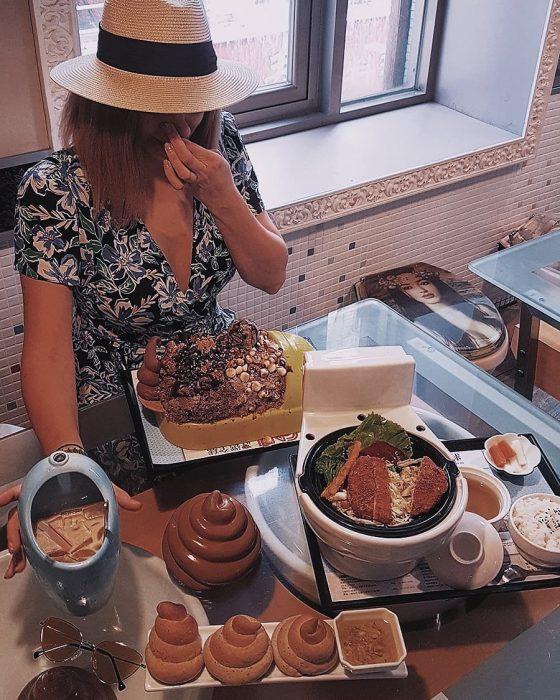 restaurantes con comida en forma de popó