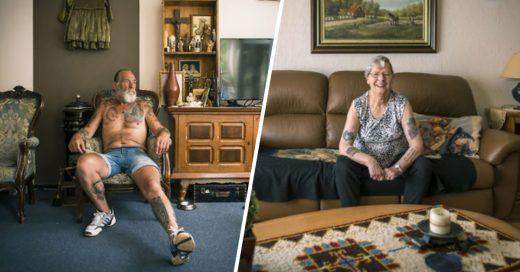 Cover Adultos mayores muestran sus tatuajes en la exposición