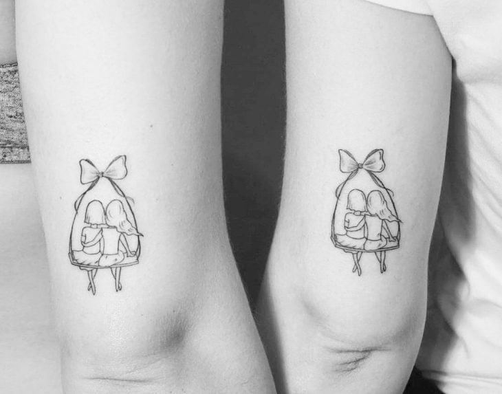 tatuajes para hermanas