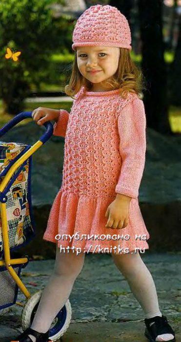 niña crochet