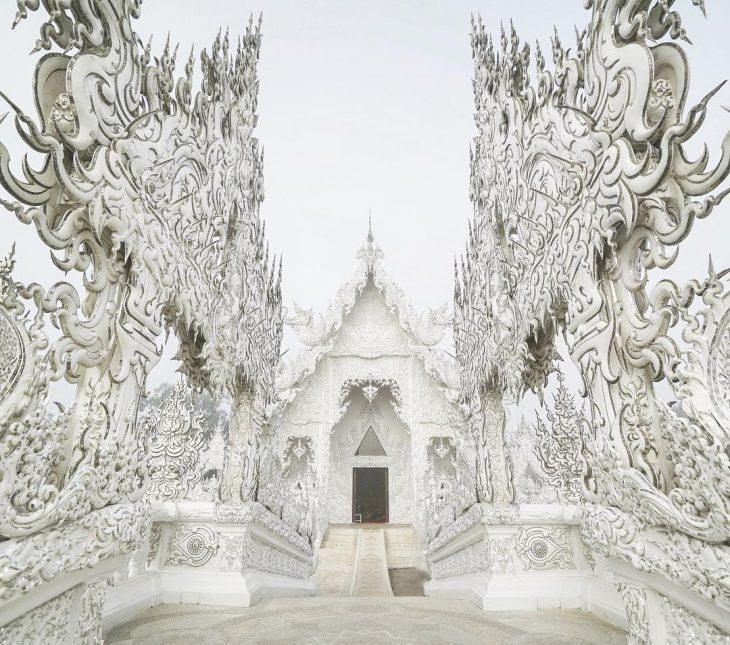 Templo Wat Rong Khun. Tailandia