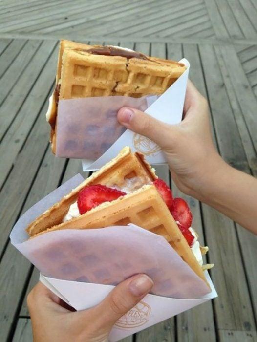 Sandwiches de helado